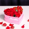 Inimă mică cu Trandafiri și Căpșuni