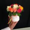 Mini-cutie cu Trandafiri multicolori