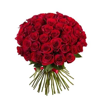 "Buchet din 51 trandafiri roșii ""Ecuador"""