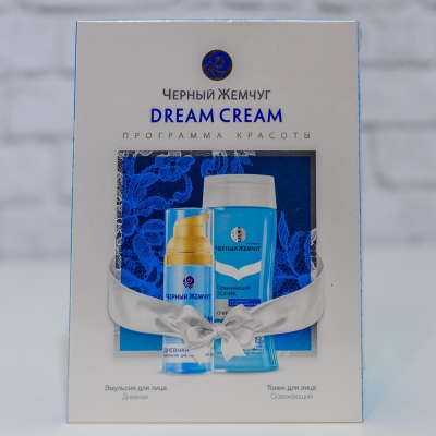 "Set de cremuri Чёрный жемчуг ""Dream Cream"""