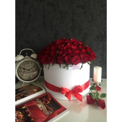 Lux Collection din 101 Trandafiri Rosii