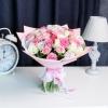 51 Trandafiri Mix Roz 30-40 cm