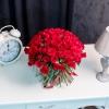 101 Trandafiri Roșii 50 cm