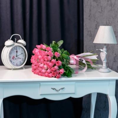 Trandafiri Roz 50-60 cm