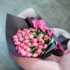 Trandafiri Roz în hârtie 50-60 cm