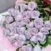 Trandafiri Mov în hârtie 50-60 cm