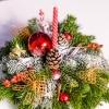 Compoziție Roșie de Crăciun