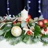 Compoziție Alungită de Crăciun
