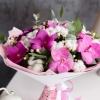 Buchet cu Orhidei Vanda Fuchsia