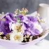 Buchet cu Orhidei Vanda Mov