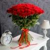 Trandafiri Roșii 80-90 cm 101 buc