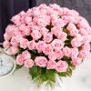 Trandafiri Roz 80-90 cm 101 buc