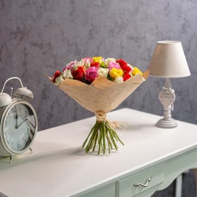 "Trandafiri multicolor ""Olanda"" 30-40cm"