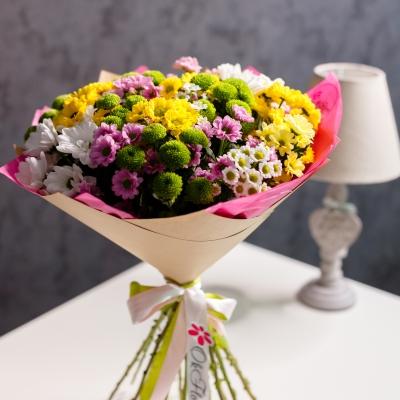 25 Crizanteme Multicolore