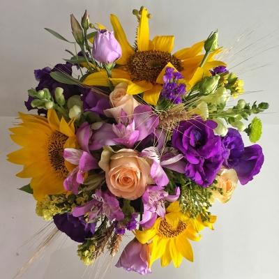Cutie cu Flori de Vară