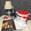 Set Special: Cutie de Lux cu Trandafiri Criogenați și Asti Martini