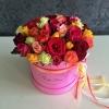 Lux Collection cu trandafiri multicolori