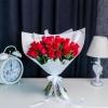 35 Trandafiri Roșii (aranjament haotic)