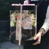 Aranjament Roz in Cutie Aquarium