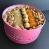 Cutie cu Fructe Uscate, Arahide și Ferrero Rocher