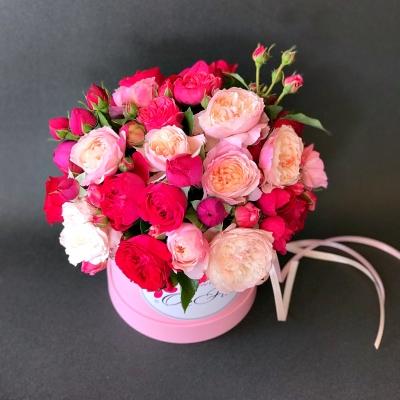 Cutie cu Trandafiri Tross Bombastic Fuchsia și Roz