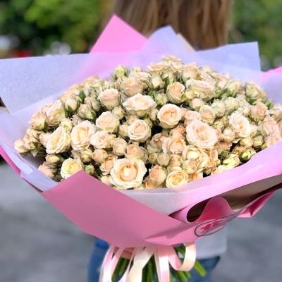 Buchet din Trandafiri Tross Crem