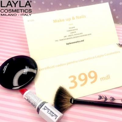 Certificat LAYLA 399 lei
