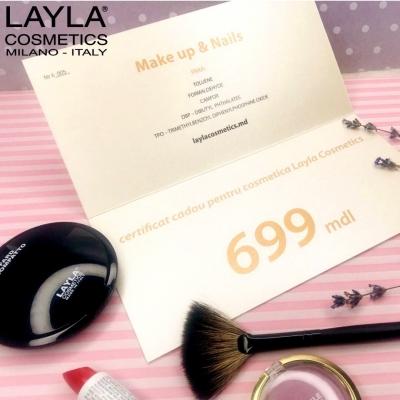 Certificat LAYLA 699 lei