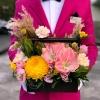 Lădiță Galben-Roz cu Amarilis