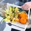 Lădiță cu Orhidei și Portocale