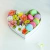 Inima din flori si macaroons