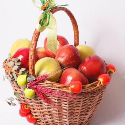 Cos mare cu mere