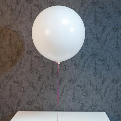 Balon Alb mare cu heliu