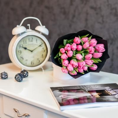 Buchet special Nr 13 din 25 lalele roz
